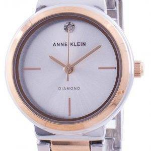 Anne Klein Genuine Diamond 3529SVRT Quartz Women's Watch