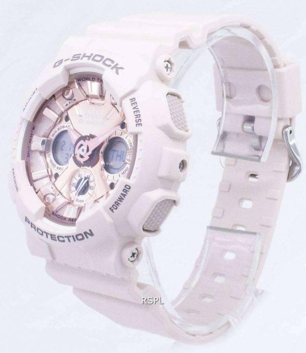 Casio G-Shock S Series GMA-S120MF-4A GMAS120MF-4A Illumination Analog Digital 200M Women's Watch