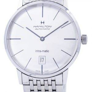 Hamilton Intra-Matic Automatic Silver Dial H38455151 Men's Watch