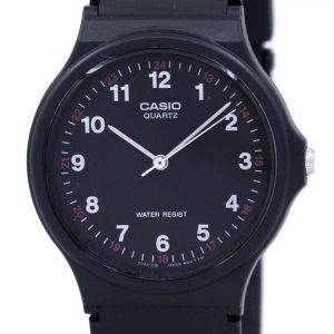 Casio Classic Analog Quartz Black Resin MQ-24-1BLDF MQ24-1BLDF Men's Watch
