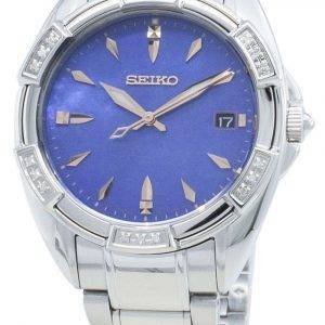Seiko Classic SKK881P SKK881P1 SKK881 Diamond Accents Quartz Women's Watch