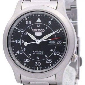 Seiko 5 Automatic  SNK809 SNK809K1 SNK809K  21 Jewel  Men's Watch