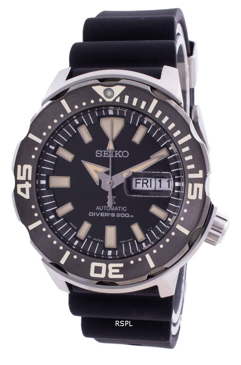 Seiko Prospex Automatic Diver's SRPD27 SRPD27J1 SRPD27J 200M Men's Watch