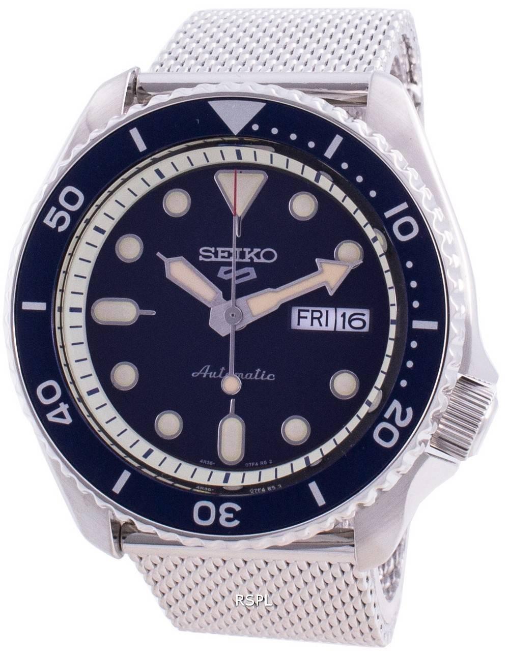 Seiko 5 Sports Suits Style Automatic SRPD71 SRPD71K1 SRPD71K 100M Men's Watch