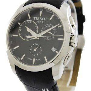 Tissot Couturier Quartz GMT T035.439.16.051.00 T0354391605100 Men's Watch