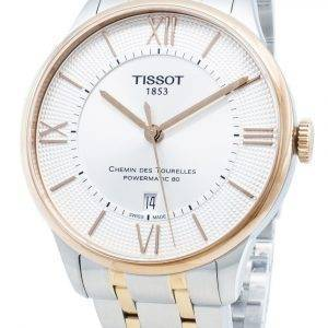 Tissot Chemin Des Tourelles T099.407.22.038.02 T0994072203802 23 Jewels Automatic Men's Watch