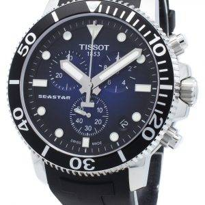 Tissot Seastar 1000 T120.417.17.041.00 T1204171704100 Chronograph 4 Jewels Quartz 300M Men's Watch
