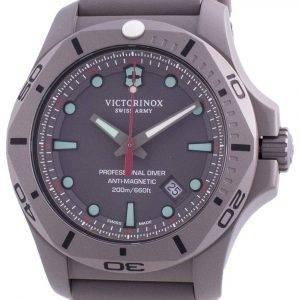 Victorinox Swiss Army I.N.O.X. Professional Diver Titanium Anti-Magnetic 241810 Quartz 200M Men's Watch