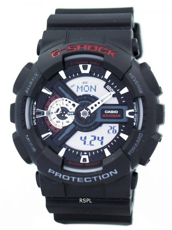 Casio G-Shock World Time Analog Digital GA-110-1A GA110-1A Men's Watch