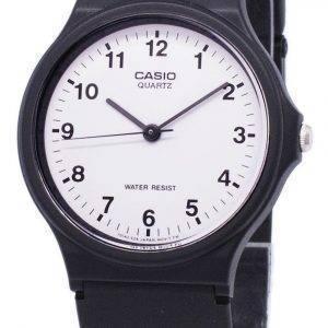 Casio Classic Analog Quartz White Dial MQ-24-7BLDF MQ-24-7BL Men's Watch