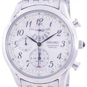 Seiko Chronograph Perpetual SPC251 SPC251P1 SPC251P Quartz Tachymeter Men's Watch