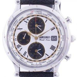 Seiko 30th Anniversary Age Of Discovery World Time SPL055P SPL055P1 SPL055P Quartz Chronograph Limited Edition Men's Watch