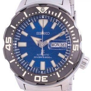 Seiko Prospex Automatic Diver's Monster Save The Ocean SRPE09 SRPE09J1 SRPE09J Japan Made 200M Men's Watch
