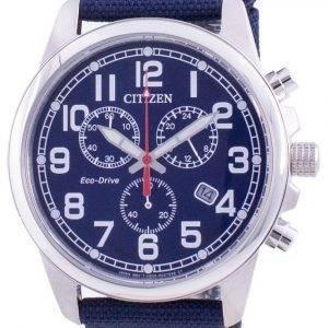 Citizen Chandler Black Dial Eco-Drive AT0200-21L 100M Men's Watch