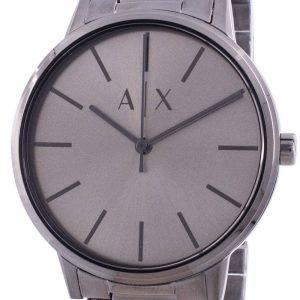 Armani Exchange Cayde Grey Dial Quartz AX2722 Mens Watch