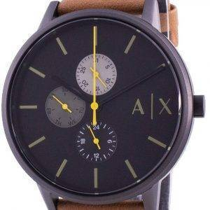 Armani Exchange Cayde Black Dial Quartz AX2723 Mens Watch