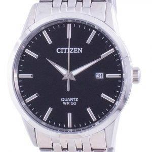 Citizen Black Dial Stainless Steel Quartz BI5000-87E Men's Watch