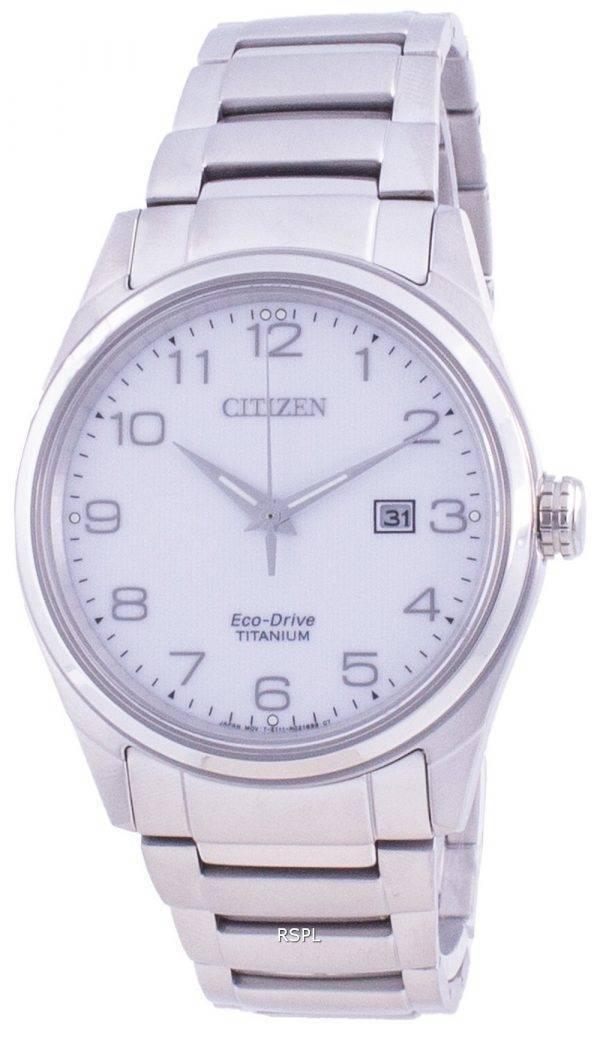 Citizen Eco-Drive Super Titanium BM7360-82A 100M Men's Watch