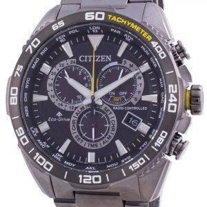 Citizen Promaster Radio Controlled World Time Eco-Drive CB5037-84E 200M Mens Watch