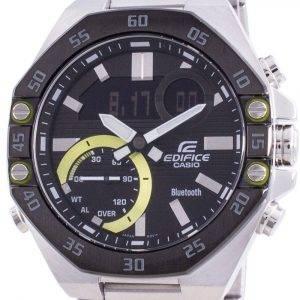Casio Edifice World Time Mobile Link ECB-10DB-1A ECB10DB-1 100M Mens Watch