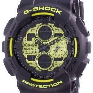 Casio G-Shock World Time Quartz GA-140DC-1A GA140DC-1A 200M Men's Watch