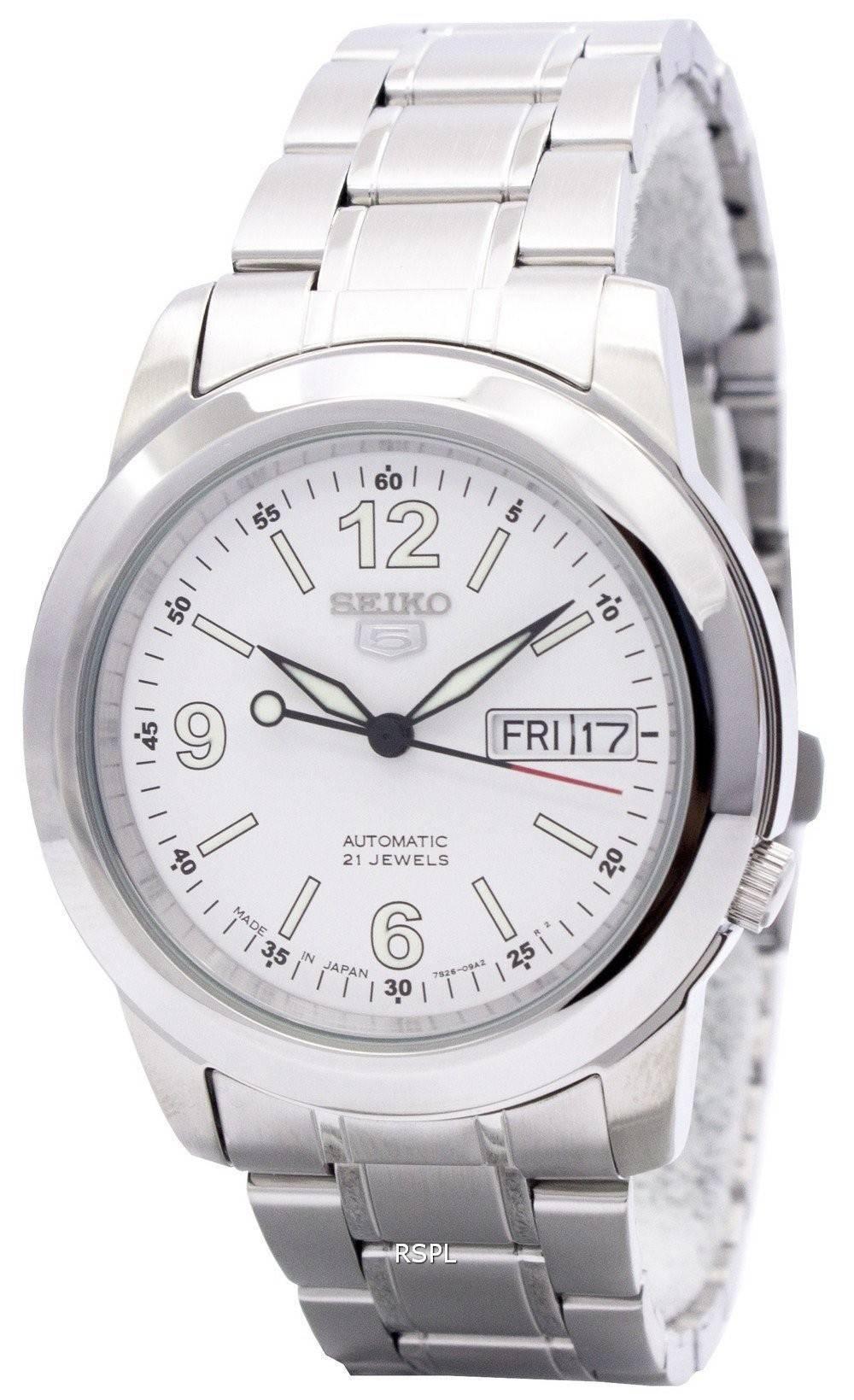 Seiko 5 Automatic 21 Jewels Japan Made SNKE57 SNKE57J1 SNKE57J Men's Watch