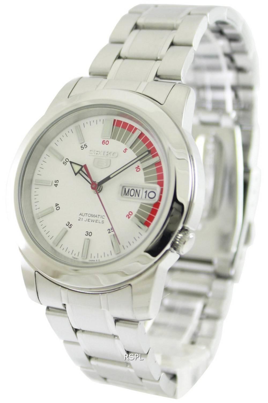Seiko 5 Automatic 21 Jewels SNKK25 SNKK25K1 SNKK25K Men's Watch