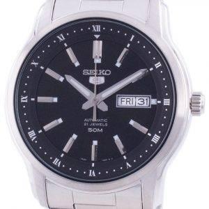 Seiko 5 Automatic Black Dial SNKP11 SNKP11K1 SNKP11K Men's Watch