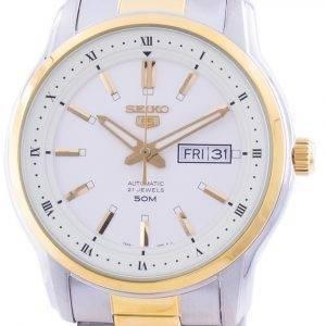 Seiko 5 Automatic White Dial SNKP14 SNKP14K1 SNKP14K Men's Watch