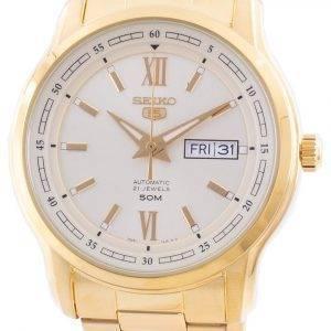 Seiko 5 Automatic Gold Tone Dial SNKP20 SNKP20K1 SNKP20K Men's Watch