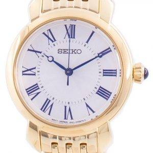 Seiko Discover More White Dial Quartz SUR626 SUR626P1 SUR626P Women's Watch