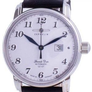 Zeppelin LZ127 Graf White Dial Automatic 7652-1 76521 Men's Watch