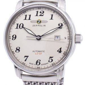 Zeppelin Series LZ127 Graf Automatic Germany Made 7656M-5 7656M5 Men's Watch