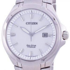 Citizen Super Titanium Silver Dial Eco-Drive BM7430-89A 100M Men's Watch