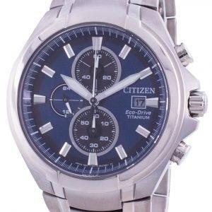 Citizen Super Titanium Chronograph Eco-Drive CA0700-86L 100M Men's Watch