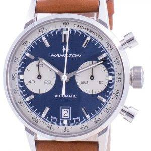 Hamilton Intra-Matic Tachymeter Automatic H38416541 100M Men's Watch