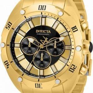 Invicta Venom Chronograph Black Dial Quartz 33744 100M Men's Watch