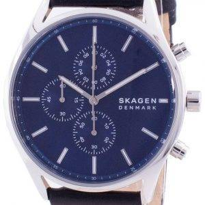 Skagen Holst Chronograph Blue Dial Quartz SKW6606 Men's Watch
