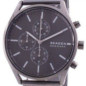Skagen Holst Chronograph Grey Dial Quartz SKW6608 Men's Watch