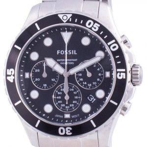 Fossil FB-03 Chronograph Stainless Steel Quartz FS5725 100M Mens Watch