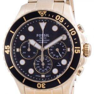 Fossil FB-03 Chronograph Stainless Steel Quartz FS5727 100M Mens Watch