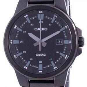 Casio Analog Black Dial Stainless Steel MTP-E173B-1A MTPE173B-1 Mens Watch