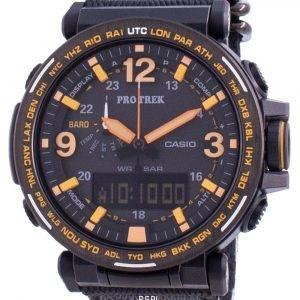 Casio Protrek World Time Quartz PRG-600YB-1 PRG600YB-1 100M Mens Watch