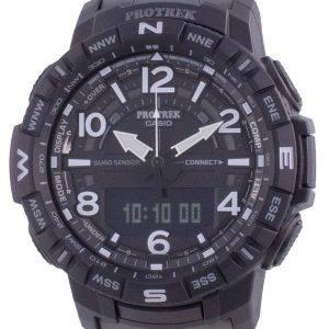 Casio Protrek Mobile Link World Time Quartz PRT-B50YT-1 PRTB50YT-1 100M Mens Watch