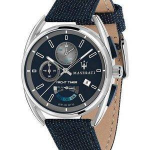Maserati Trimarano Yacht Timer Chronograph Quartz R8851132001 100M Mens Watch