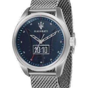 Maserati Traguardo Blue Dial Quartz R8853112002 100M Mens Watch