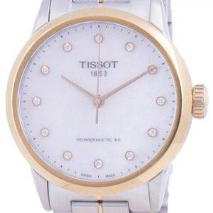 Tissot Luxury Lady Powermatic 80 Diamond Accents Automatic T086.207.22.116.00 T0862072211600 Womens Watch