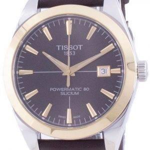Tissot Gentleman Powermatic 80 Silicium Automatic T927.407.46.291.01 T9274074629101 Mens Watch