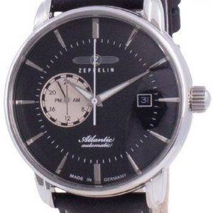Zeppelin Atlantic Black Dial Automatic 8470-2 84702 Mens Watch