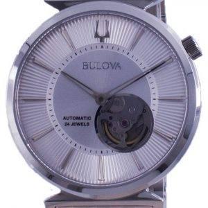 Bulova Classic Regatta Open Heart Dial Automatic 96A235 Mens Watch